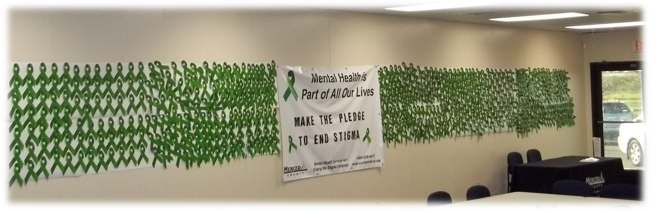 Picture of Ending the Stigma Pledge Ribbons